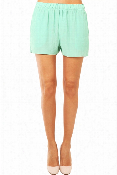 Acne Bacall Crinkle Shorts