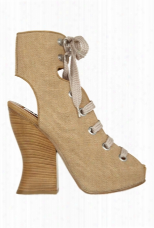 Acne Chiara Ankle Boot Natural