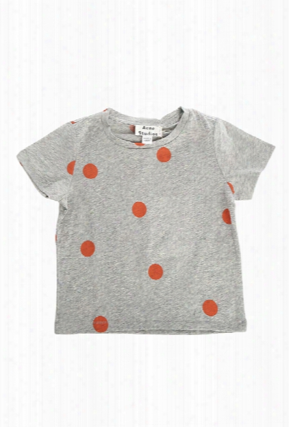 Acne Mini Grey Dot Tee