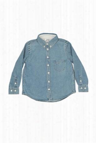 Acne Mini Isherwood Bleach Denim Shirt