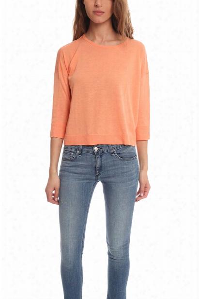 Acne Zola Fine Cotton Sweater