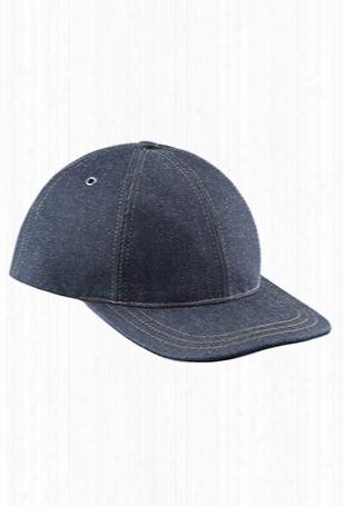 A.p.c. Classic Baseball Cap Indigo