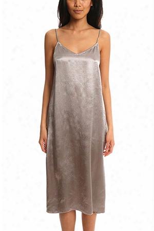 Atm Deep V Slip Dress