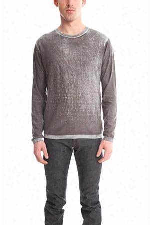 Blue&cream Inked Crewneck Sweater