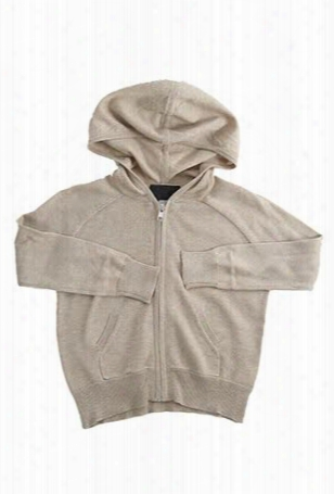 Blue&cream Kids Cashmere Zip Hoody