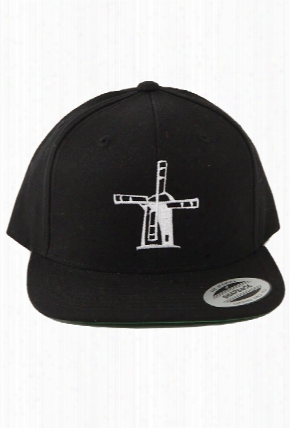Blue&cream Windmill Snapback