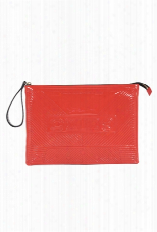 Corto Moltedo Cassette Big Clutch Red Patent