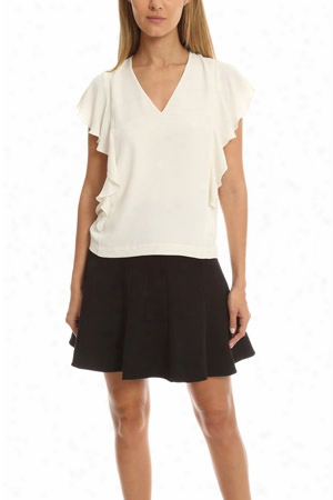 Elizabeth And James Stella Ruffle Top