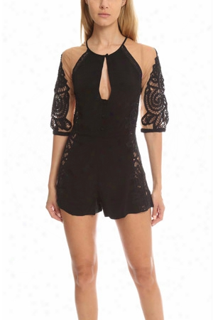 For Love & Lemons Valentina Romper