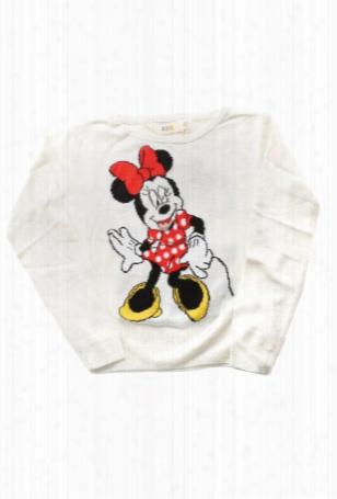 Little Eleven Paris Cinnie Minnie Knit Sweater