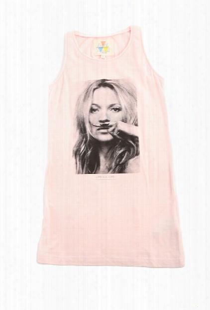 Little Eleven Paris Pink Kate Moss Tank Dress