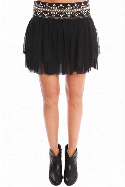 Pierre Balmain Black Skirt