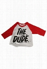 Baron Von Fancy The Dude Raglan