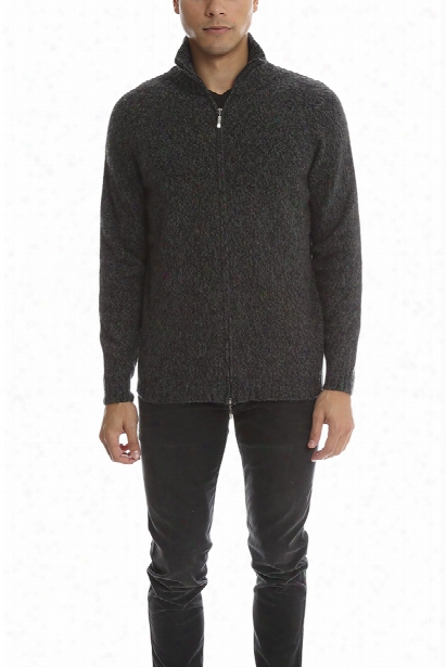 120% Lino Zip Sweater
