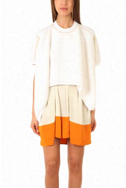 3.1 Phillip Lim Asymmetrical Short Sleeve Pullover