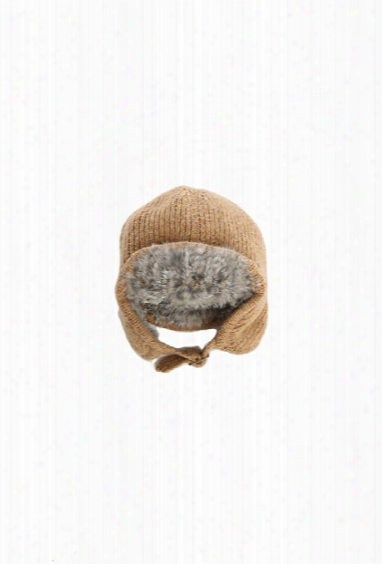 3.1 Phillip Lim Kids Fur Lined Cap