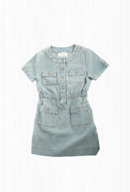 3.1 Phillip Lim Kids Shortsleeve Denim Dress
