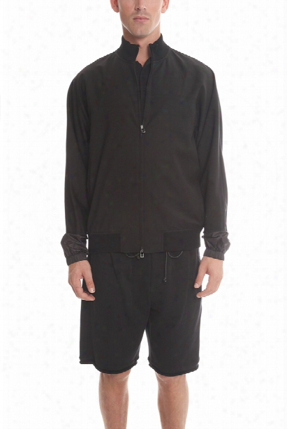 3.1 Phillip Lim Mock Neck Zip Jacket