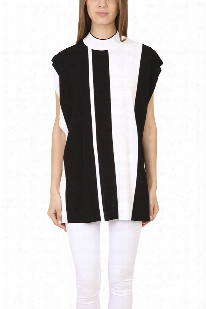 3.1 Phillip Lim Oversize Intarsia Stripe Tunic