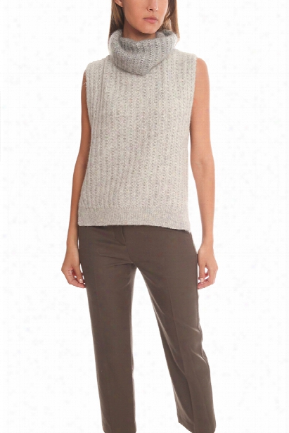 3.1 Phillip Lim Sleeveless Vest Turtleneck