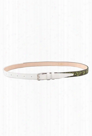 3.1 Phillip Lim Two Tone 20mm Trouser Belt