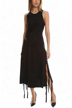 Derek Lam 10 Crosby Dress With Horn Toggle Belt