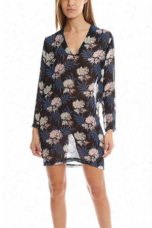 Ganni Park Row Georgette Dress