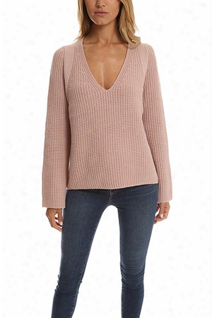 Helmut Lang Cash Wool V Neck Sweater