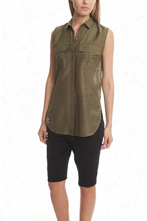 Helmut Lang Shirting Sleeveless Top