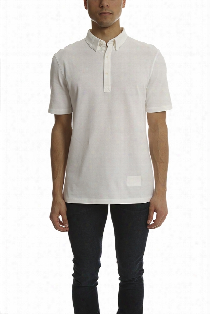 Helmut Lang Spring Pique Polo