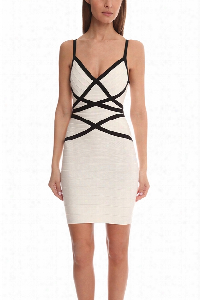Herve Leger Capreace Knit Dress