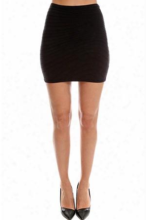 Herve Leroux Lan Mini Skirt