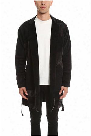 Longjourney Mechanics Patchwork Coat