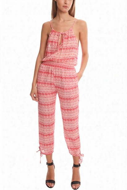 Loveshackfancy Scarlet Jumpsuit