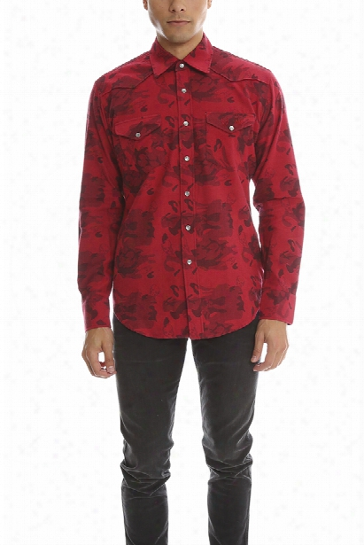 Lucien Pellat-finet Red Skull Shirt