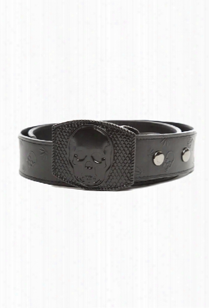 Lucien Pellat-finet Skull Buckle Belt