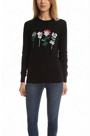 Markus Lupfer Mexican Flower Natalie Sweater
