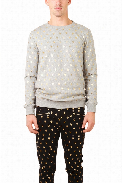 Markus Lupfer Skull Print Sweatshirt