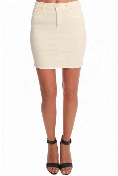 Mother High Waist Mini Skirt