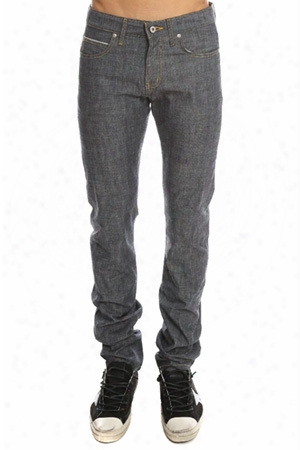 Naked & Famous Skinny Guy Indigo Selvedge Chambray