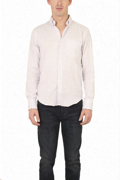 Naked & Famous Slim Shirt Lavender