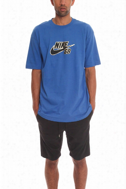 Nike Blue Logo Tee