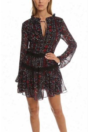N/nicholas Ditsy Floral Mini Dress