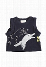 3.1 Phillip Lim Kids Goose Puppet Muscle Tee