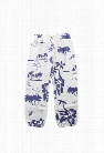 Monrow Kids White Hawaiin Vintage Sweatpants
