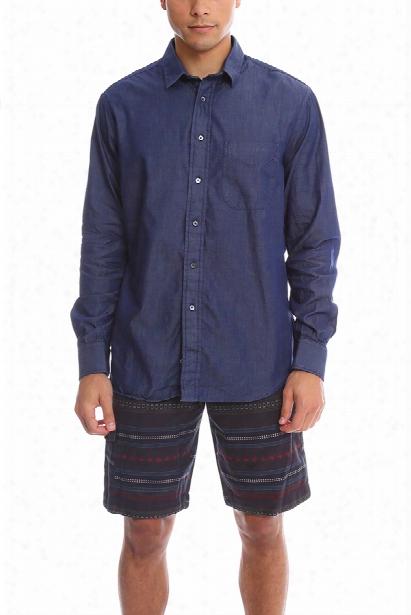 Blue&cream Chambray Shirt