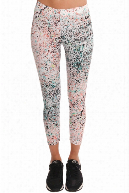 Nike Cropped Club Print Leggings