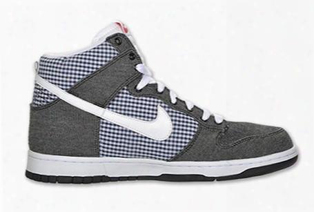 Nike Dunk High Gingham