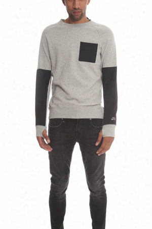Nike Everett Overlay Pocket Sweater