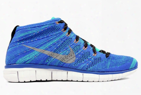 Nike Free Flyknit Chukka Game Royal